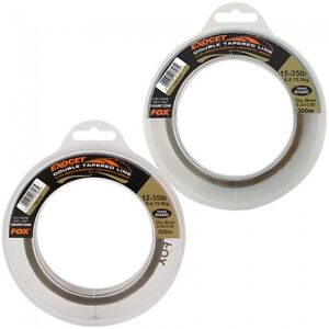 Fox-NEW-Carp-Fishing-Exocet-Double-Tapered-Mainline-300m