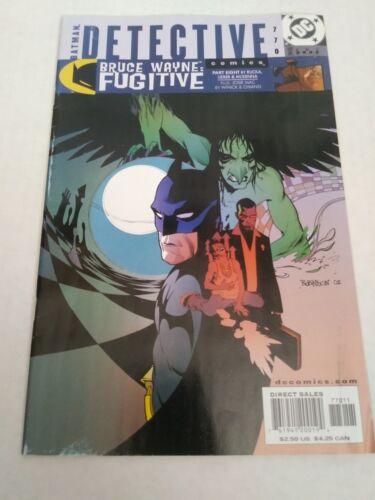 Detective Comics #764 January 2002 Batman Rucka Martinbrough Jan 02, DC