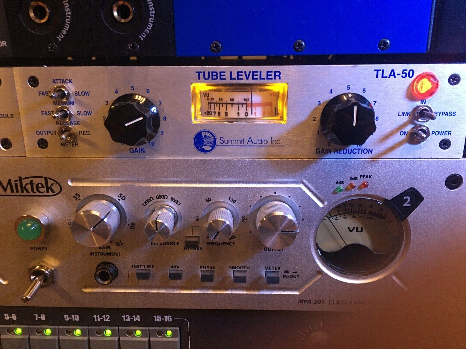 Summit Audio TLA-50 Tube Leveling Amplifier. Buy it now for 649.99