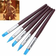 BD/_5X Silicone Rubber Shapers Polymer Clay Sculpting Fimo Modelling Tool