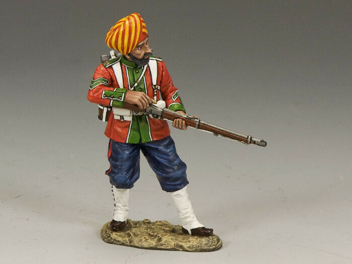 KING & COUNTRY SONS OF EMPIRE SOE009G LUDHIANA SIKHS REGT. RELOADING MIB