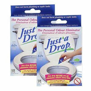Just A Drop - Natural Toilet Odor Eliminator - Eucalyptus ...