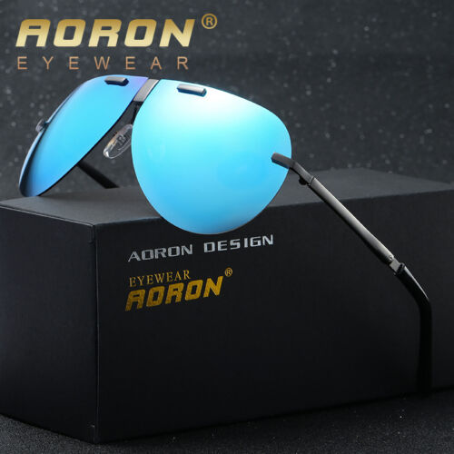 Men/'s Folding Polarized Sunglasses Foldable Designer Women Glasses Metal Eyewear