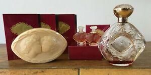 Lalique-Le-Baiser-Eau-Du-Parfum-Miniatures-Phials-Soap-Bar-Collectable-Bottle