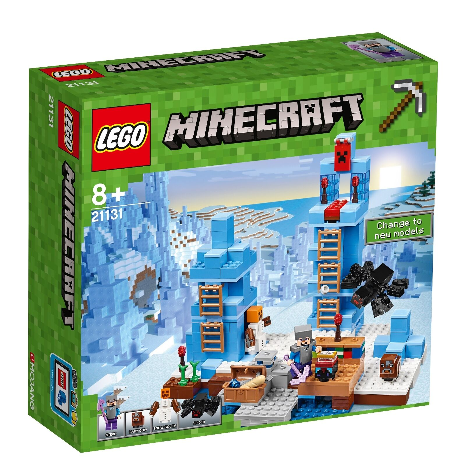LEGO® Minecraft™ 21131 Türme aus Eis NEU OVP_ The Ice Spikes NEW MISB NRFB