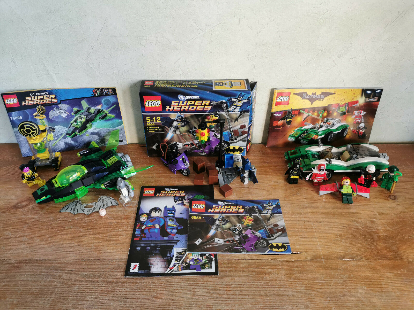 LEGO SUPER HEROES   BATMAN  3 Sets - 6858, 70903 und 76025