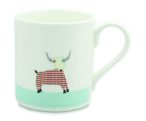 Mclaggan Smith Bone China Mug Buffalo
