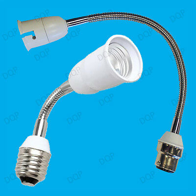 300mm B22 Or 200mm E27 Flexible Light Bulb Lamp Socket