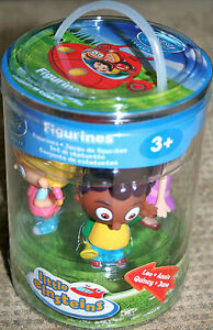 New-little-einsteins-4-figures-Disney-store-rare-box-set-cake-toppers-complete