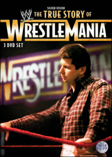 1 of 1 - WWE: The True Story of WrestleMania DVD (2011) Kevin Dunn
