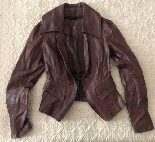 Large Size Medium Leather Jacket Fornarina xaqUAwpXn