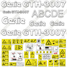 Genie Gth3007 Decal Kit Telescopic Forklift 7 Year 3m Vinyl