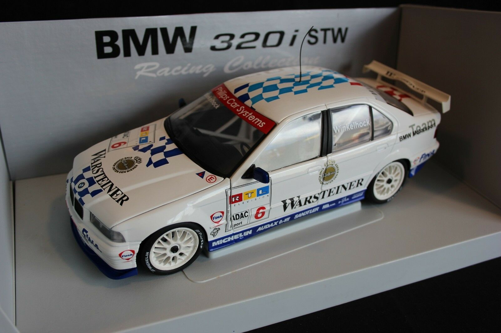 UT Models BMW 320i 1998 1 18 Manfrosso Winkelhock (GER) STW 1998