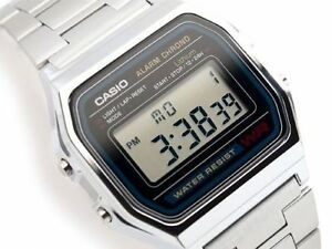 4b4072f47ce6 Casio A-158W Retro Digital Unisex Watch Original Factory New Digital ...