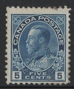 MOTON114-111-George-V-5c-Canada-mint