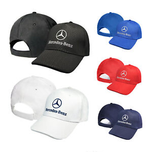 Mercedes-Benz-CARBONIO-Cappello-Ricamato-Cappellino-Baseball-Cap-Uomo-Donna