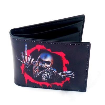 Skull Wallet Portafoglio Official Merchandise Essere Accorti In Materia Di Denaro