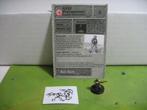 Axis-amp-Allies-Set-2-II-SNLF-Paratroopers-with-card-39-45
