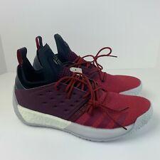 6b112be71b76 Adidas Basketball James Harden Vol. 2 Men s Size 13 Boost Bold Red Grey ( AH2124