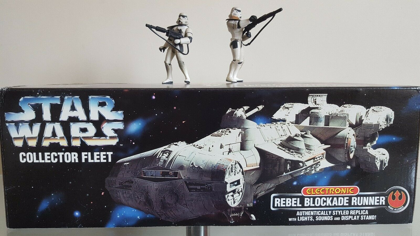 Star Wars Blockade Runner Electronic Sounds Lights NEW Boxed 1996