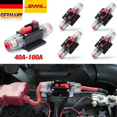 40A Auto KFZ Automatische Sicherung Automat Automatik Schalter 12V//24V M6 DHL