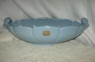 Console Centerpiece Bowl Pink Aqua Vintage Ceramic Bowl
