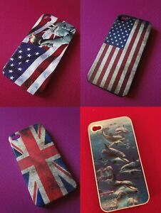 Lot 4 coques Iphone 4 / 4S Apple