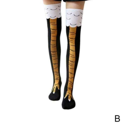 Novelty Chicken Feet High Sock Christmas gift 2020 H3P5