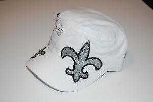 White-Fleur-de-Lis-Cadet-Caps