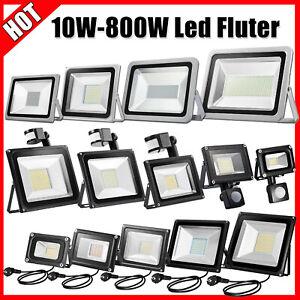 ⭐⭐⭐⭐⭐LED Fluter Strahler 10W 50W 100W 500W SMD Außen IP65 Scheinwerfer Flutlicht