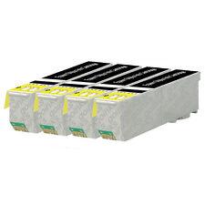 4 Black Ink Cartridges for Epson Expression XP-520 XP-610 XP-625 XP-720 XP-820
