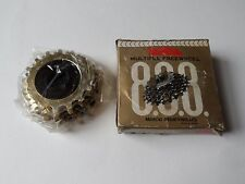 *NOS Vintage 1970s SUNTOUR 'ORO' 16-20 cogs 5 Speed ISO freewheel cassette*