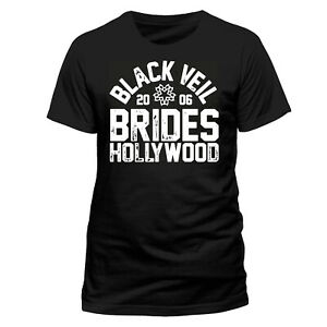 OFFICIAL-Black-Veil-Brides-T-shirt-Hollywood-Mens-Unisex-Black-New-M-L-XL