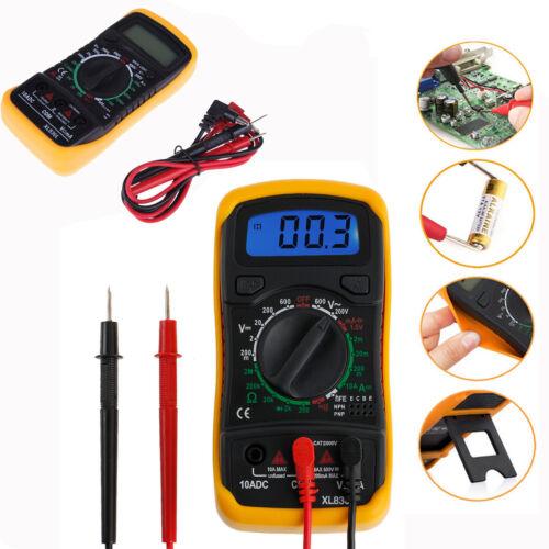 Digital Multimeter Stromprüfer Vielfach-Messgerät Voltmeter Spannungsmesser EGM