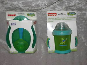 Baby Shower Animals of the Rainforest Fisher Price Feeding Bowl with Spoon