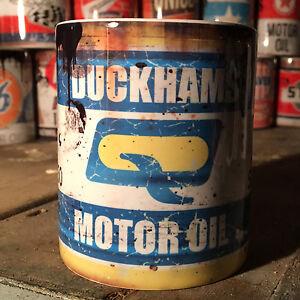 2x-Duckhams-oil-can-Gift-Motorcycle-Car-Mechanic-Gift-11oz-Tea-coffee-mugs