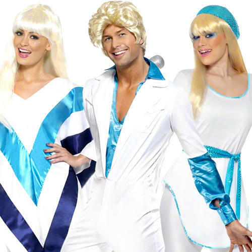 50s Celebrity Icon Adult Fancy Dress Retro Pop Star Band Womens Mens Costume New