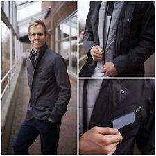 Mens Lululemon Commute 2 in 1 Blazer Jacket Soot Gray w/ Camo Liner sz M