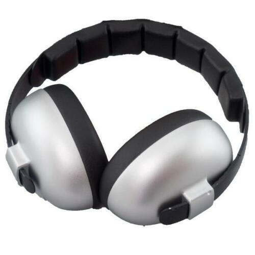Ear Muffs Silver 3 Months FREE P+P RRP £20 Kids Banz Baby Ear Defenders