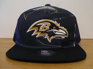 9b4698fa641 Image is loading OSFM-Youth-NFL-Outerstuff-Baltimore-Ravens-Stealth-SnapBack -