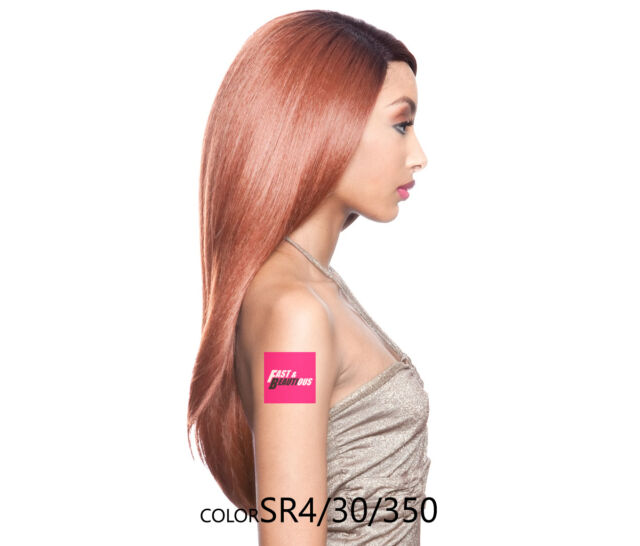 Isis Brown Sugar Human Hair Blend Soft Swiss Lace Front Wig Bs202