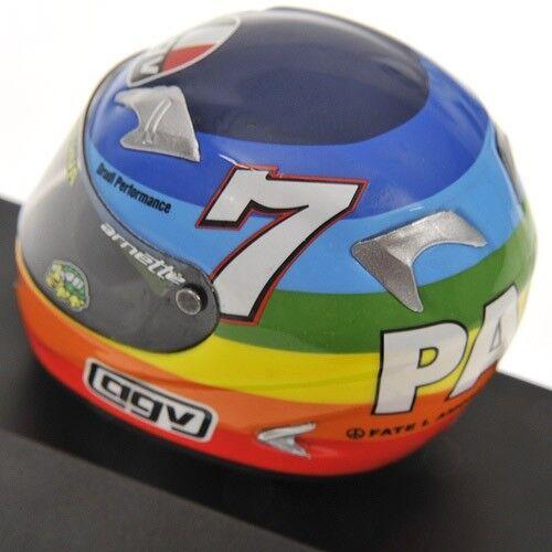 MINICHAMPS 397 030046 030076 030086 030099 AGV HELMETS V Rossi MotoGP 2003 1 8th