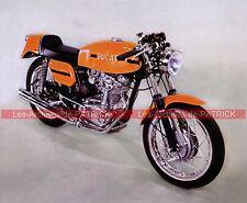 DUCATI 350 Desmo 1968 Fiche Moto 000057