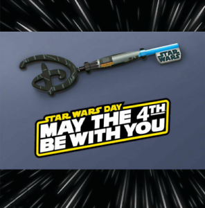Disney-Star-Wars-May-the-4th-Be-With-You-Collectible-Key-IN-Hand-Free-Ship