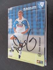 57033 Peter Graulund VFL Bochum 01-02 original signierte Autogrammkarte