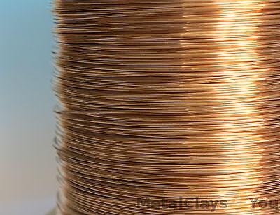 Unplated Bronze Round Wire 0.4mm to 5.0mm Jewelry Making / Wire Craft