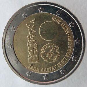 ET20018.2 - ESTONIE - 2 euros commémo. 100 ans République d'Estonie - 2018