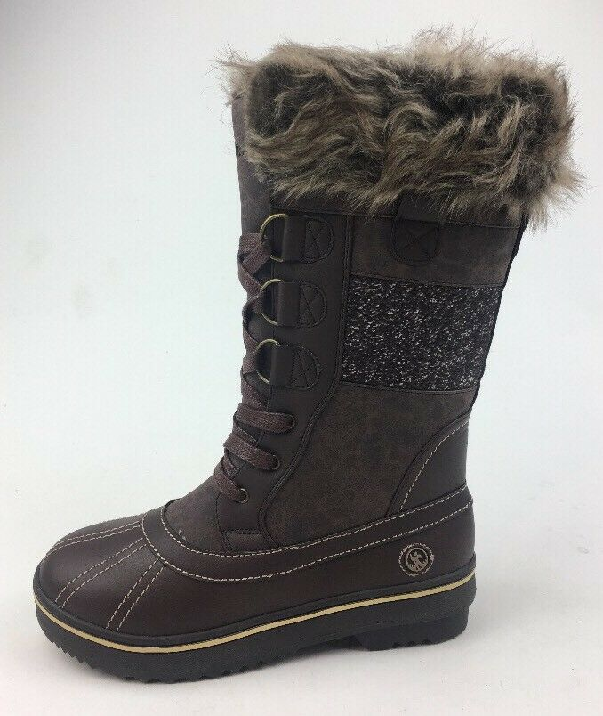 Northside Women's Bishop Snow Boots - Size 6, Brown Tan 508