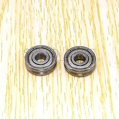 5mm*16mm*5mm 2pcs Wide V625ZZ 625VV V Groove Guide Pulley Rail Ball Bearings