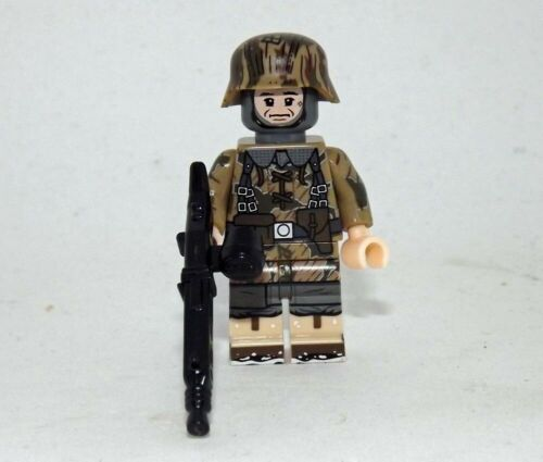 German wehrmacht minifigure soldier WW2 Army camo toy figure world war military